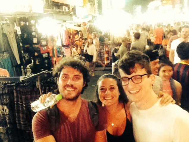 Friends meeting up in Thailand!