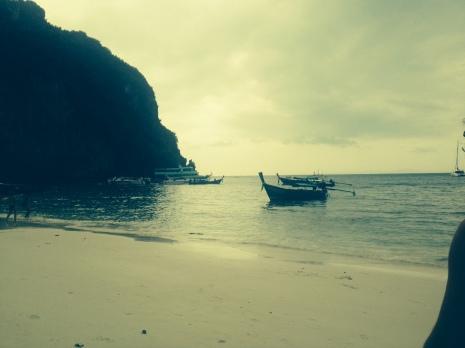 Maya Bay, off the coast of Koh Phi Phi