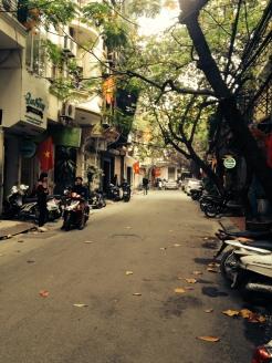 Quaint streets of Hanoi