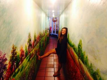 average hallway in Hanoi
