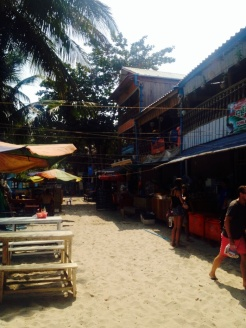 Main St of Koh Rong