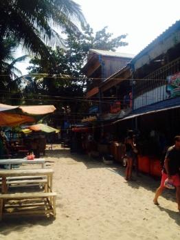 Main St of Koh Rong