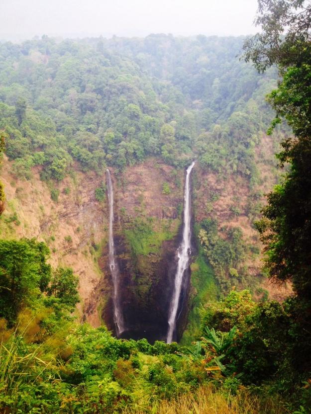Tad Fan, highest waterfall in Laos