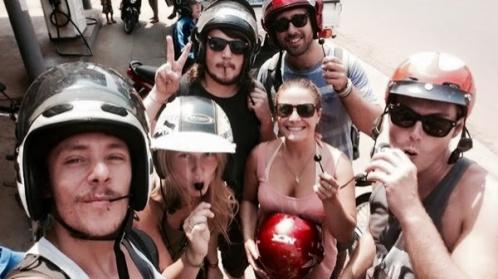 """The """"Chupa Chups Bike Gang"""""""